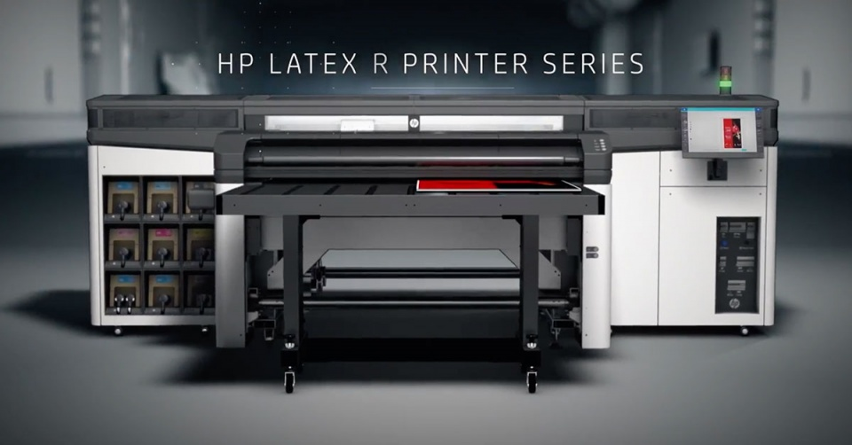 HP R 1000 - Wide Format - White Ink - Flexible and Rigid Media